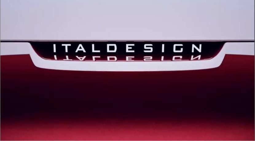 Italdesign teaser concept Salón de Ginebra 2019