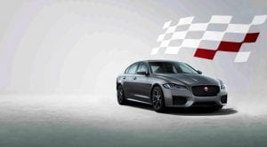 Jaguar XF Chequered Flag