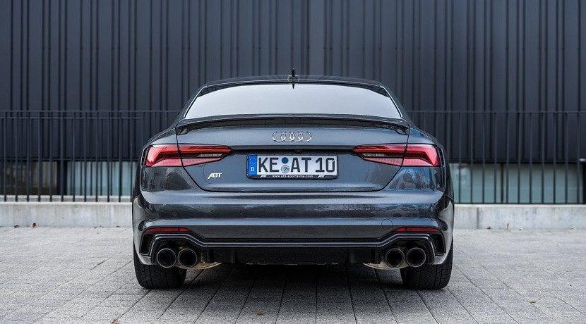 Trasera del Audi RS5 ABT