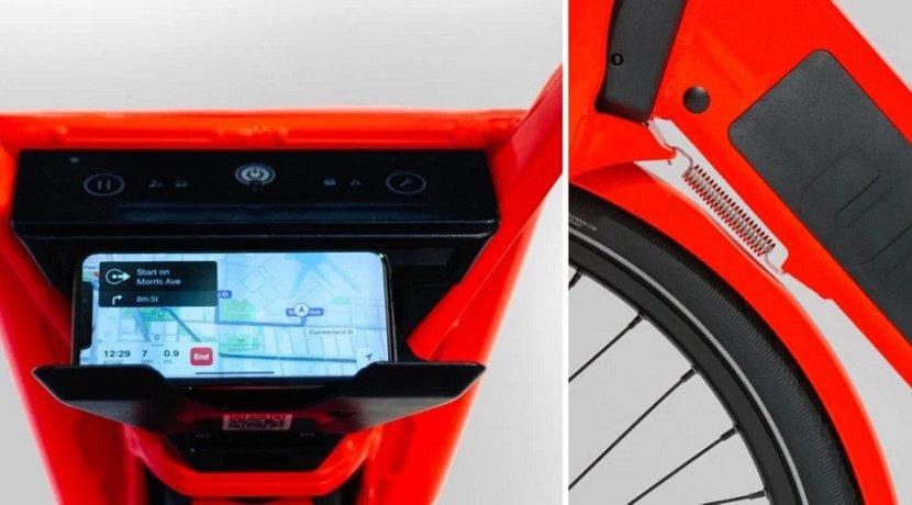 Sistemas automáticos de las bicicletas de uber