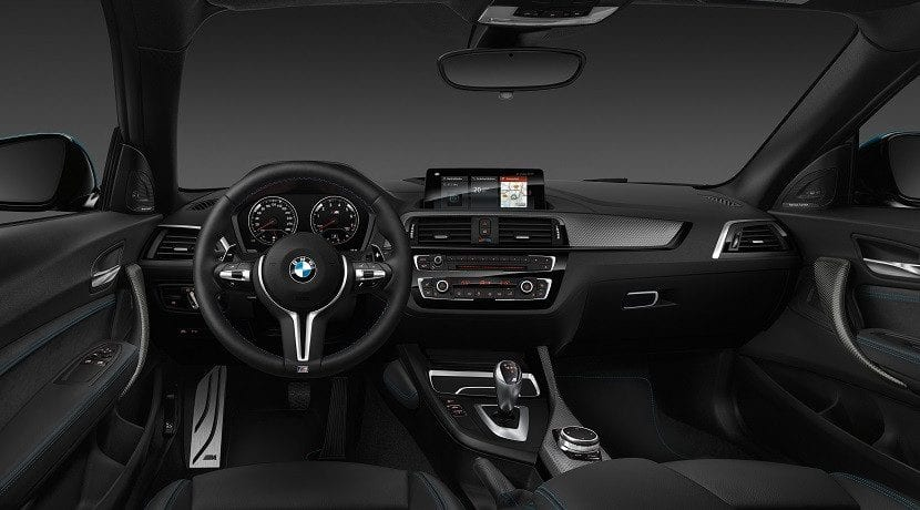 Interior del BMW M2 Grand Coupé