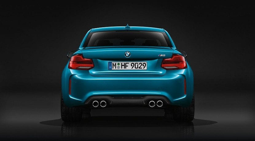 Trasera del BMW M2 Gran Coupé