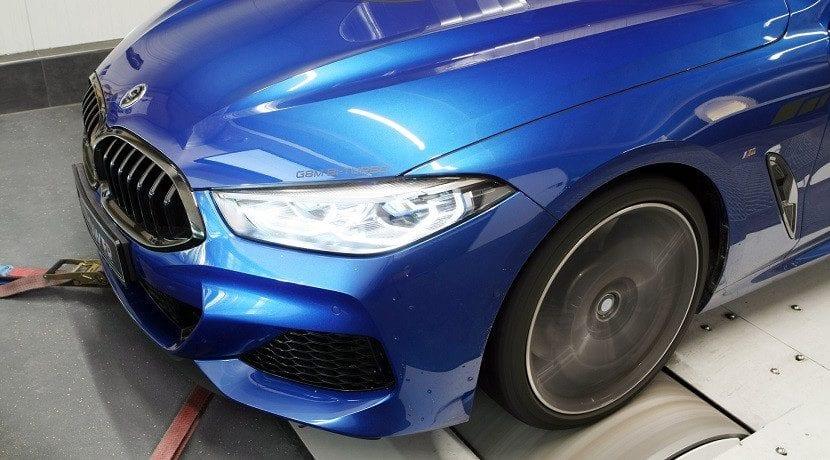 Morro del BMW M850i xDrive preparado por G-Power