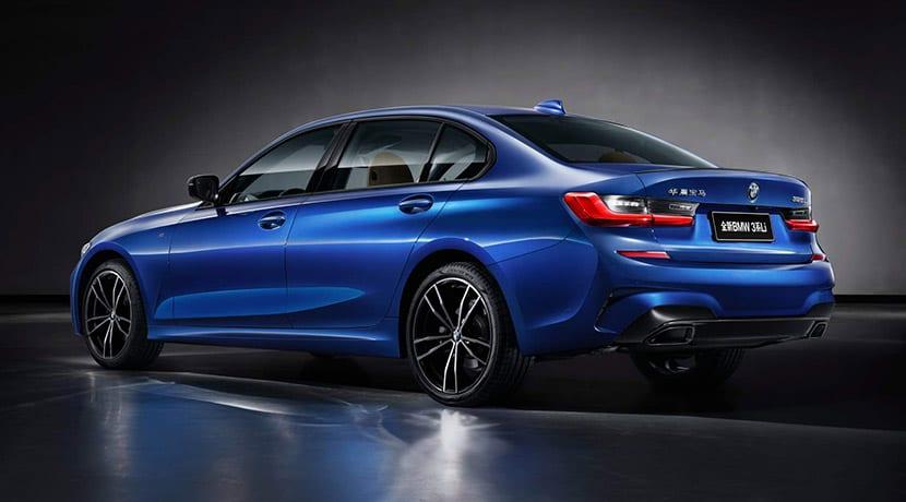 BMW Serie 3 de batalla larga para el mercado chino