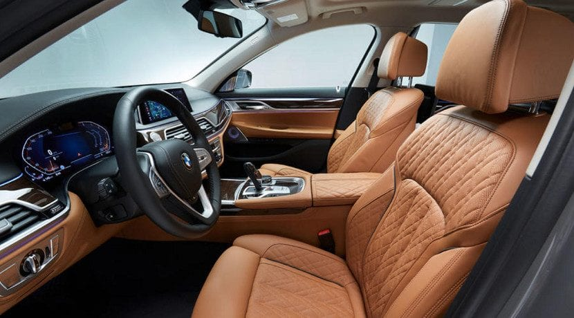 Asientos delanteros del BMW Serie 7 2019 presentado en Detroit