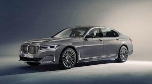 Frontal del BMW Serie 7 2019 presentado en Detroit