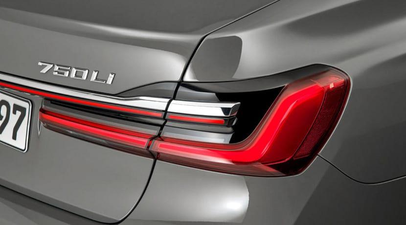 Grupos ópticos traseros del BMW Serie 7 2019 presentado en Detroit