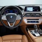 Puesto de conducción del BMW Serie 7 2019 presentado en Detroit