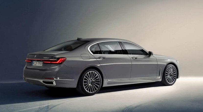 Trasera del BMW Serie 7 2019 presentado en Detroit