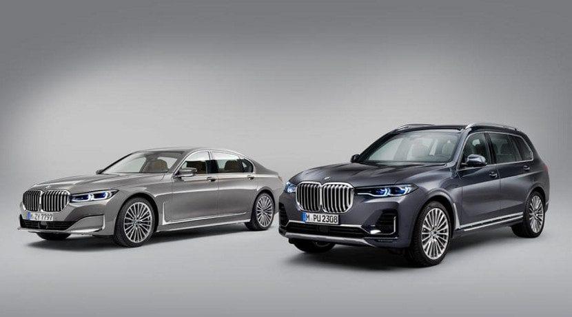 BMW Serie 7 2019 presentado en Detroit y BMW X7