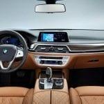Interior del BMW Serie 7 Restyling de 2019