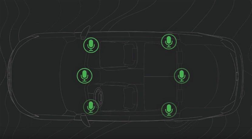 Sistema de anulación de ruido en el coche de Bose