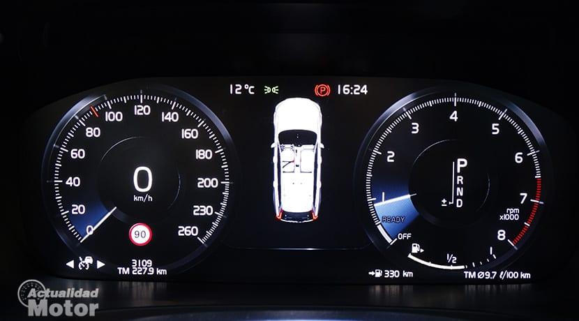 Cuadro de instrumentos de Volvo