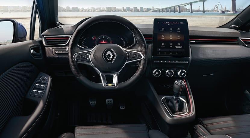 Diseño interior Renault Clio 2019