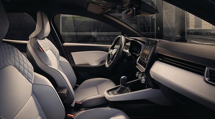 Renault Clio 2019 tapizado blanco