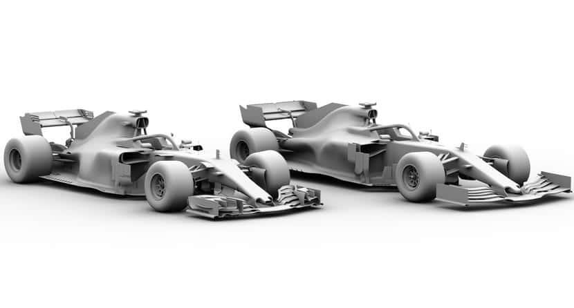F1 2018 VS 2019, diseños
