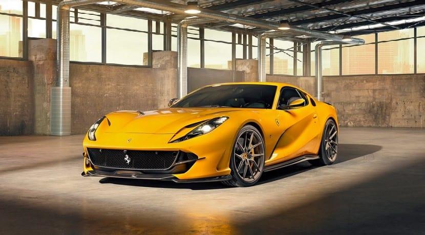 Ferrari 812 Superfast preparado por Novitec
