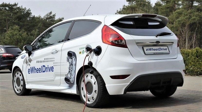 Versiones eléctricas de los modelos de Ford