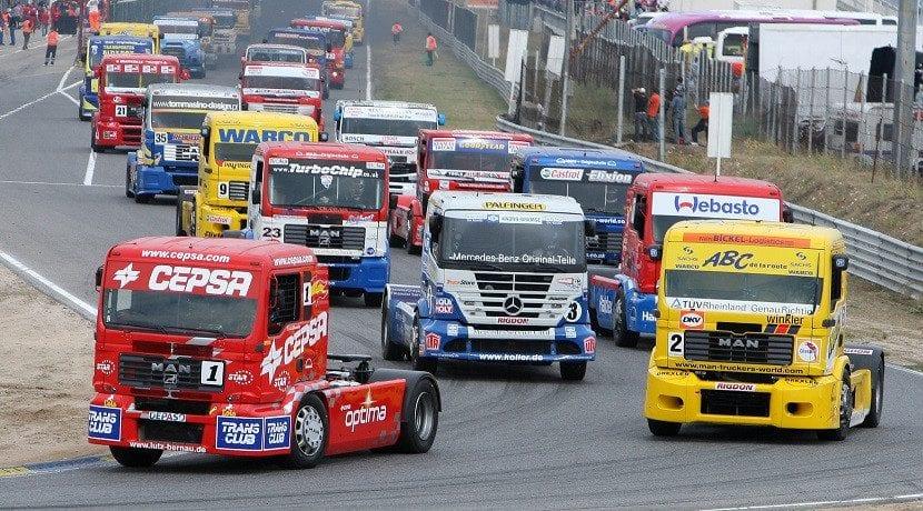 Campeonato Europeo Camiones Circuito del Jarama