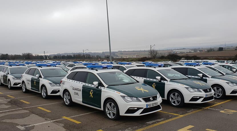 La Guardia Civil adquiere 249 Seat León ST