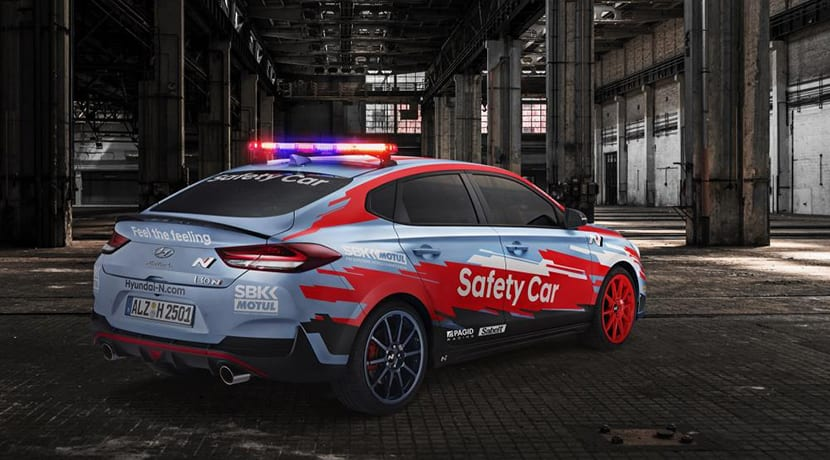 Hyundai i30 Fastback N Safety Car de Superbikes