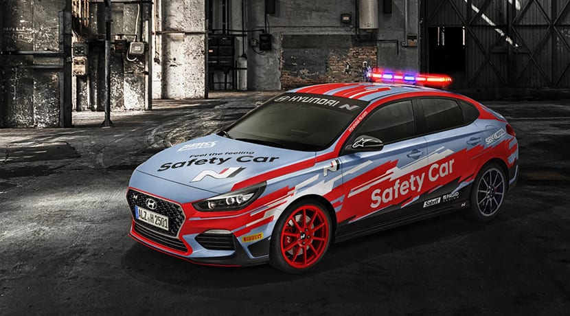 Hyundai i30 Fastback N Safety Car de SBK 2019