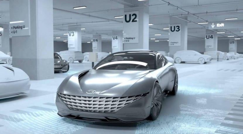 Carga inalámbrica y aparcamiento automático de Hyundai Kia