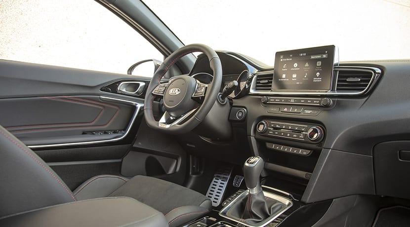 Interior del Kia Ceed GT