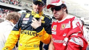 Kubica y Alonso