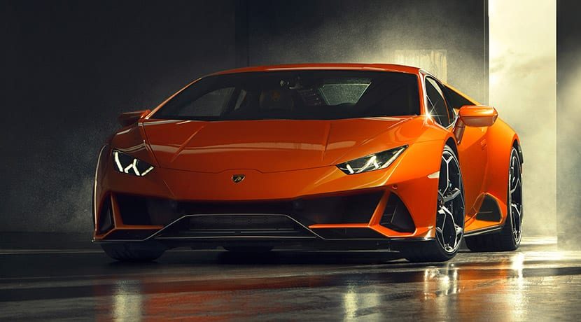 Lamborghini Aventador EVO frontal