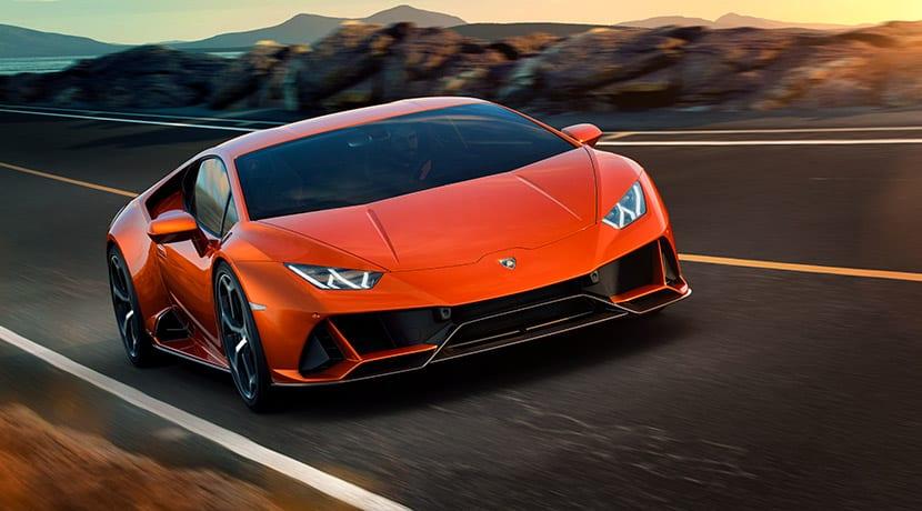 Lamborghini Aventador EVO dinámica