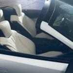 Asientos del Lexus LC descapotable