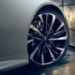 Llantas del Lexus LC descapotable
