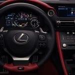 Lexus RC F diseño interior