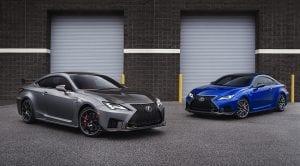 Lexus RC F y RC F Track Edition