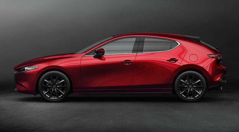 Mazda 3 5 puertas lateral