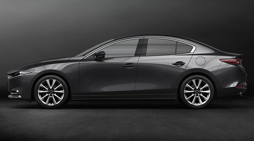 Mazda3 sedán lateral