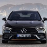 frontal Mercedes CLA