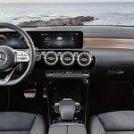 Mercedes CLA inteiror