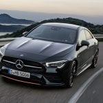 Mercedes CLA perfil delantero