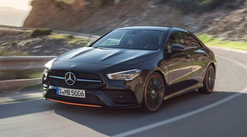 Filtrado Mercedes CLA perfil delantero