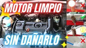 Vídeo sobre cómo limpiar el motor del coche