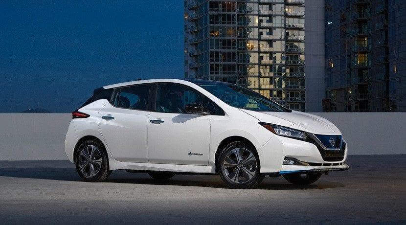 Nissan Leaf E+ con baterías de 62 kWh