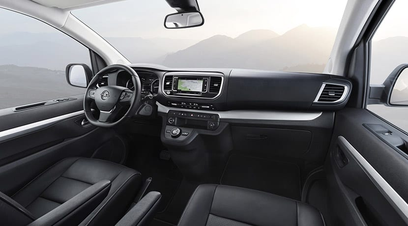 Interior Opel Zafira Life