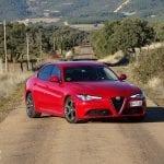 Prueba Alfa Romeo Giulia perfil delantero