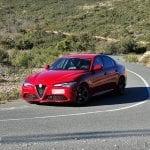 Prueba Alfa Romeo Giulia en curva cerrada