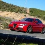 Prueba Alfa Romeo Giulia curva