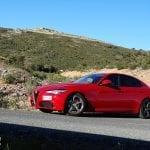 Prueba Alfa Romeo Giulia en horquilla