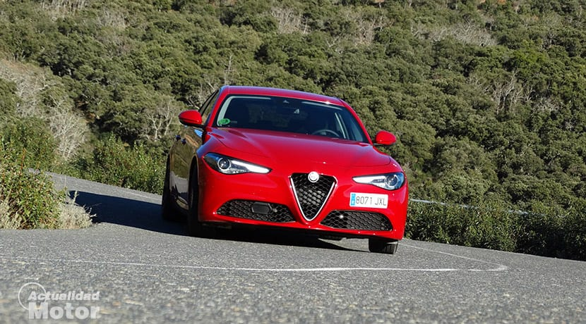 Prueba Alfa Romeo Giulia comportamiento 2.0 200 CV