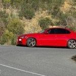 Prueba Alfa Romeo Giulia lateral